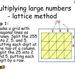 Multiply 2 By 2 Lattice Method Worksheet   Printable Worksheets and  Activities for Teachers [ 768 x 1024 Pixel ]
