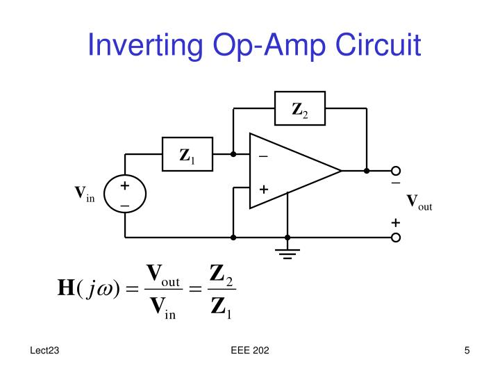 op amp circuit integrator