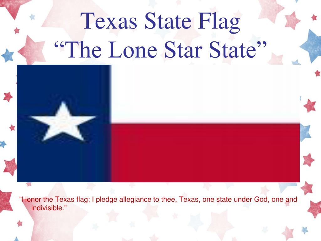 What Are The Words Of Pledge Allegiance To Texas State
