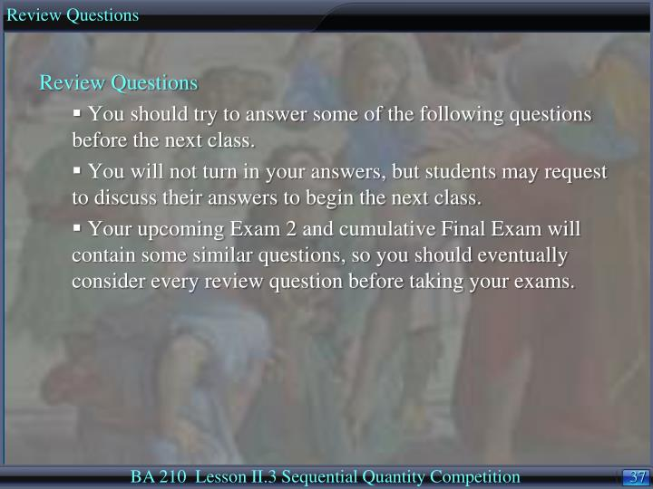 Microeconomics Final Exam Questions