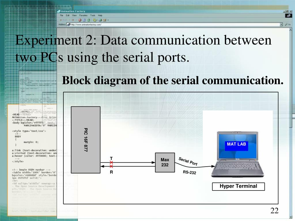 analog data acquisition system block diagram 2007 hyundai accent radio wiring ppt using matlab and pic