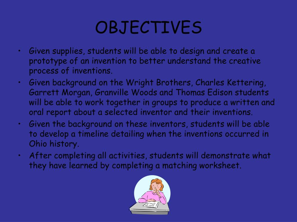 I Inventors And Inventions Matching Worksheet