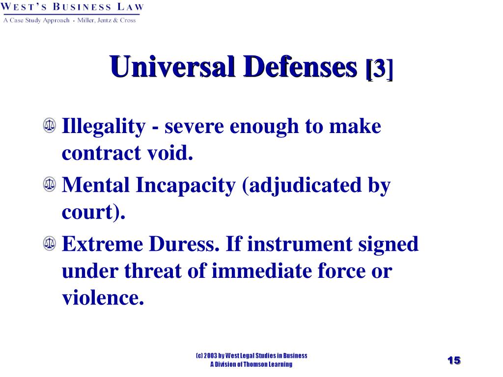 PPT  Chapter 26 Liability Defenses and Discharge