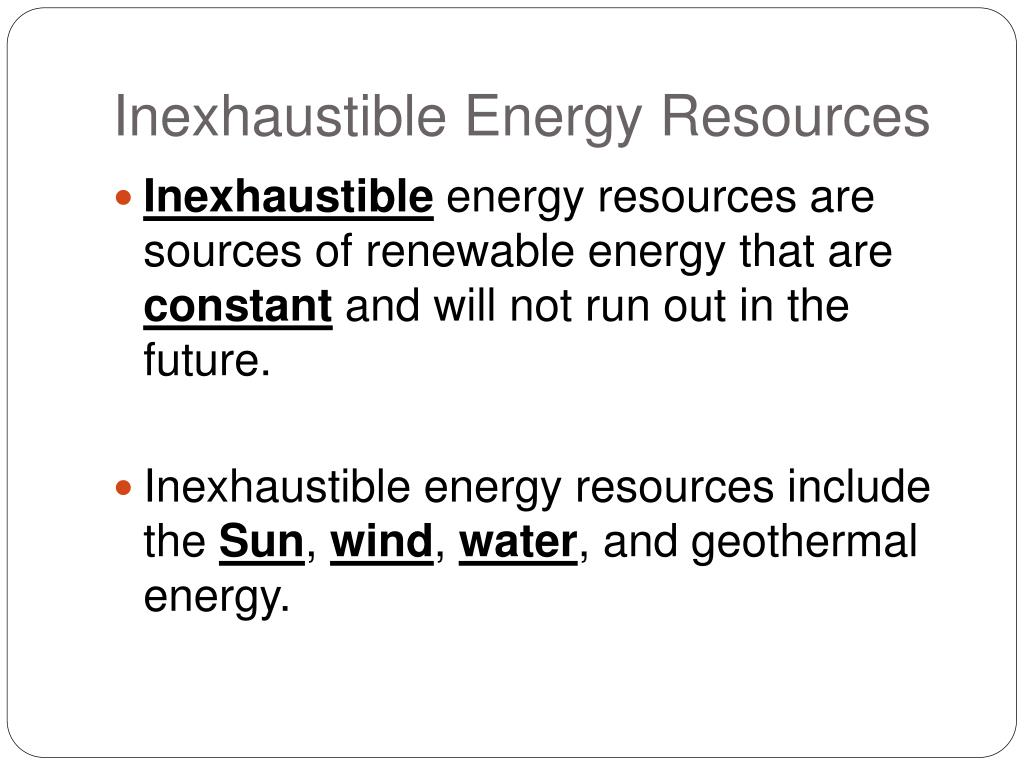 PPT - Chapter 5: Earth's Energy and Mineral Resources PowerPoint Presentation - ID:688784