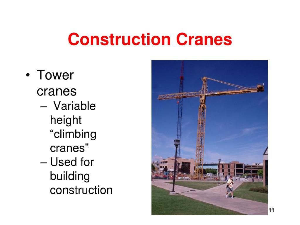 Overhead Crane Training Ppt