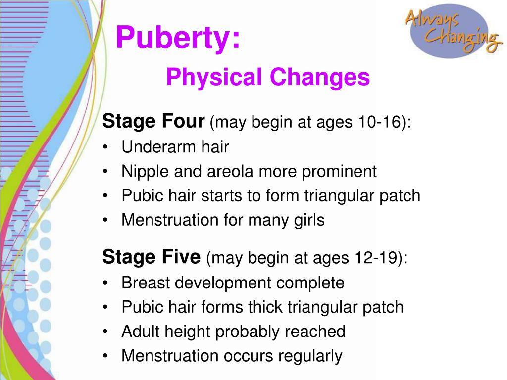 Of Pubic Hair Color Change