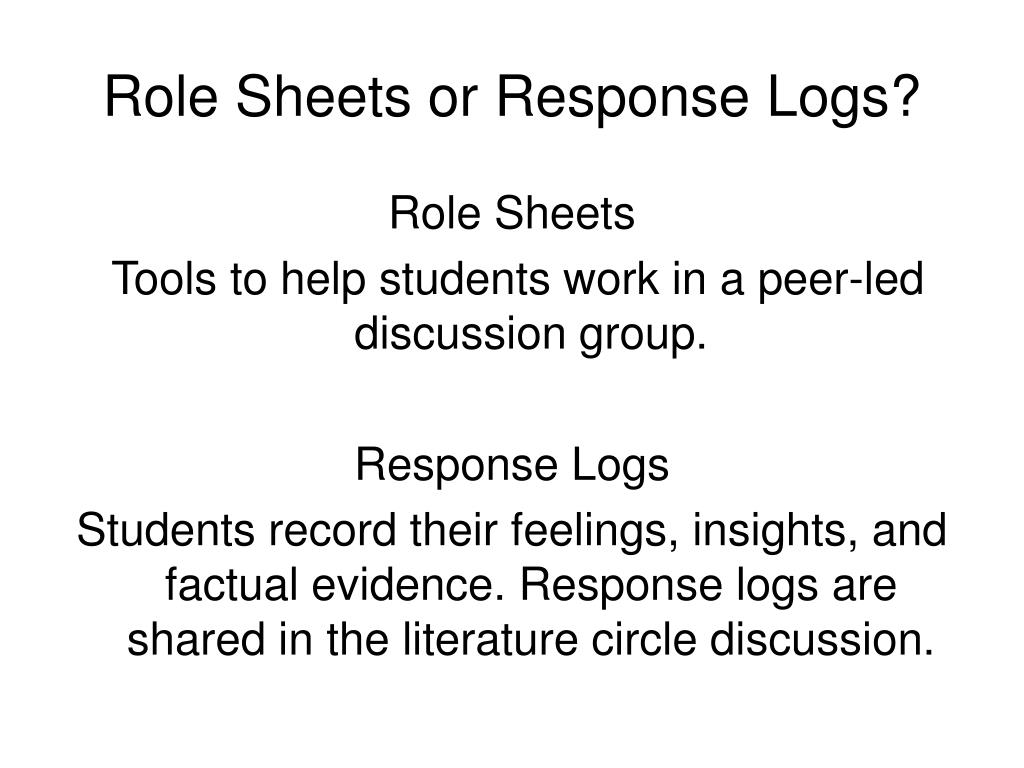 PPT  Literature Circles and Technology Explore the