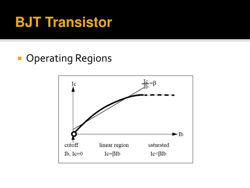 Bjt Npn Or Pnp Transistor Application Theory Biasing Amplifier