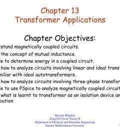 chapter 13 transformer applications powerpoint ppt presentation [ 1024 x 768 Pixel ]