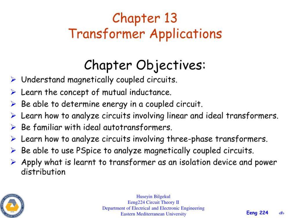 medium resolution of chapter 13 transformer applications powerpoint ppt presentation