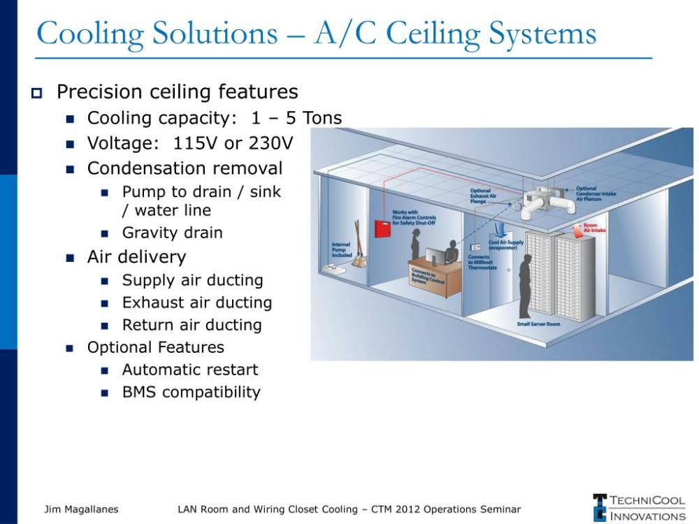 medium resolution of cooling solutions a c ceiling systems