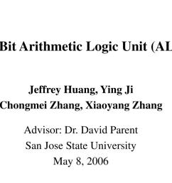 8 bit arithmetic logic unit alu n  [ 1024 x 768 Pixel ]