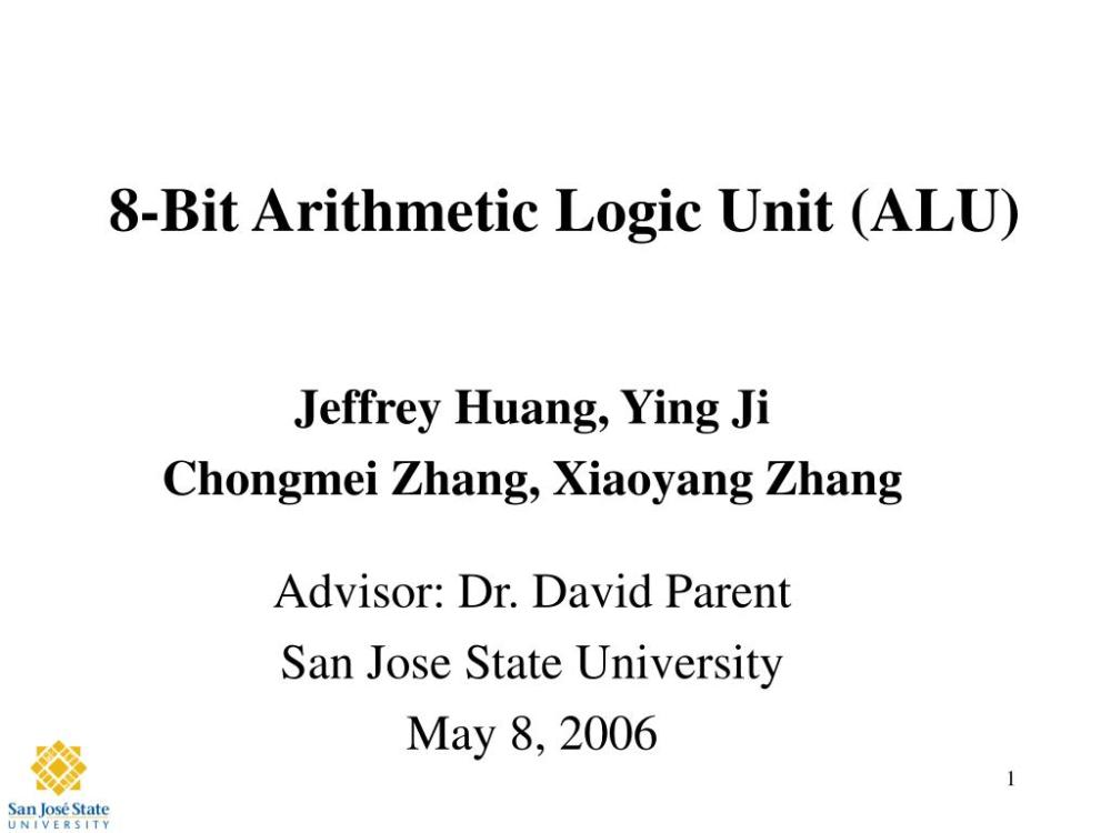 medium resolution of 8 bit arithmetic logic unit alu n