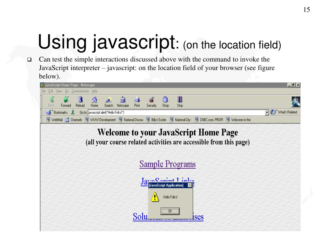 PPT - Introduction to JavaScript PowerPoint Presentation. free download - ID:889922