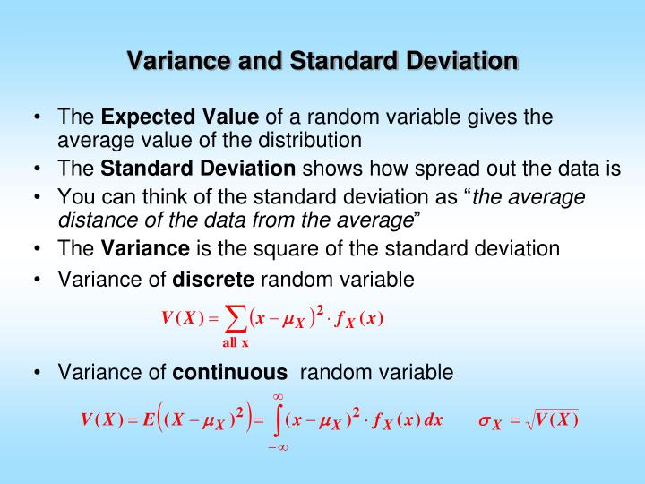 PPT - Variance and Standard Deviation PowerPoint Presentation. free download - ID:957232