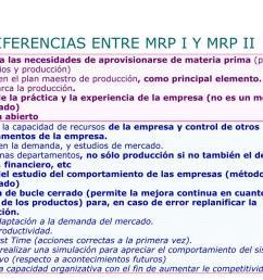 diferencias entre mrp i y mrp ii [ 1024 x 768 Pixel ]