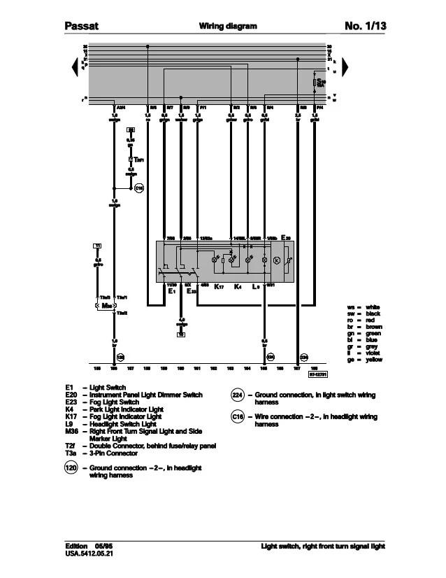 Vw T4 Indicator Wiring Diagram