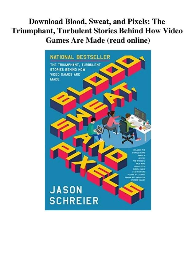 Blood Sweat And Pixels : blood, sweat, pixels, Download, Blood, Sweat, Pixels, Triumphant, Turbulent, Stories