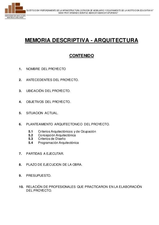 01. MEMORIA DESCRIPTIVA- arquitectura-bonifaz