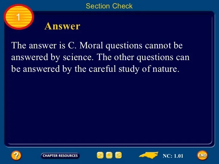 Chapter 1 S1 What Is Science