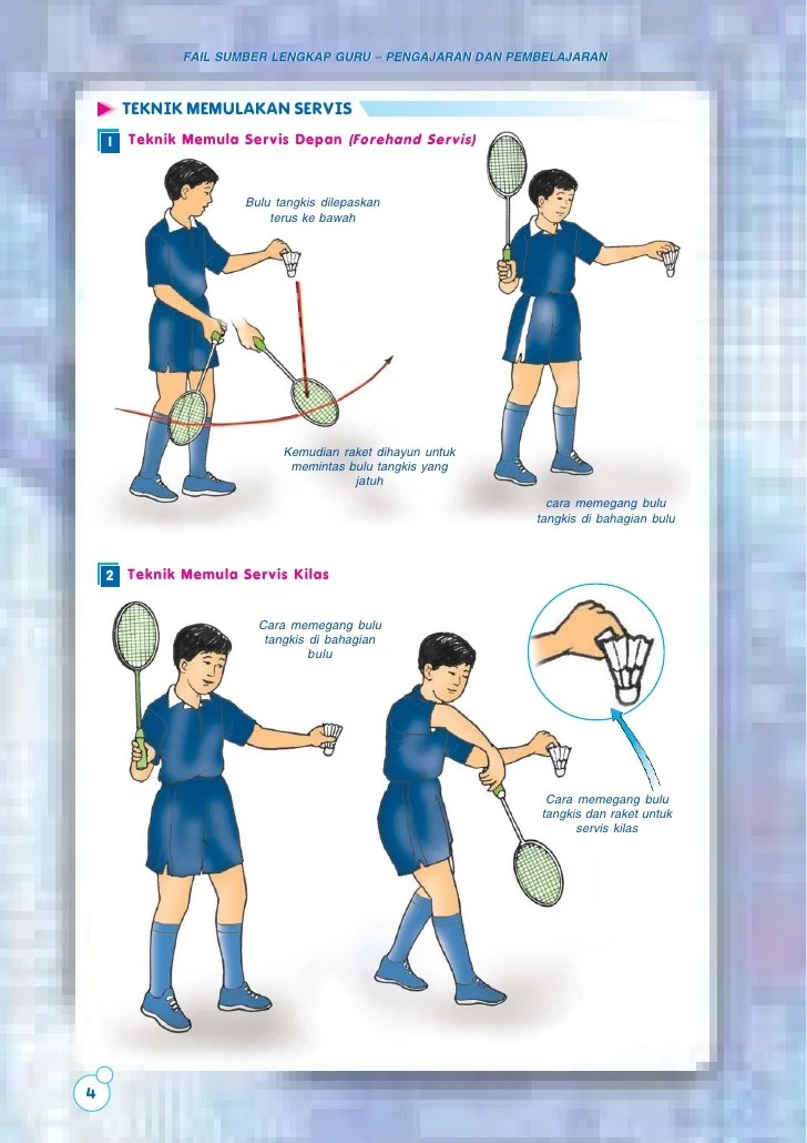 Teknik Servis Badminton : teknik, servis, badminton, Badminton, (bahasa, Melayu)