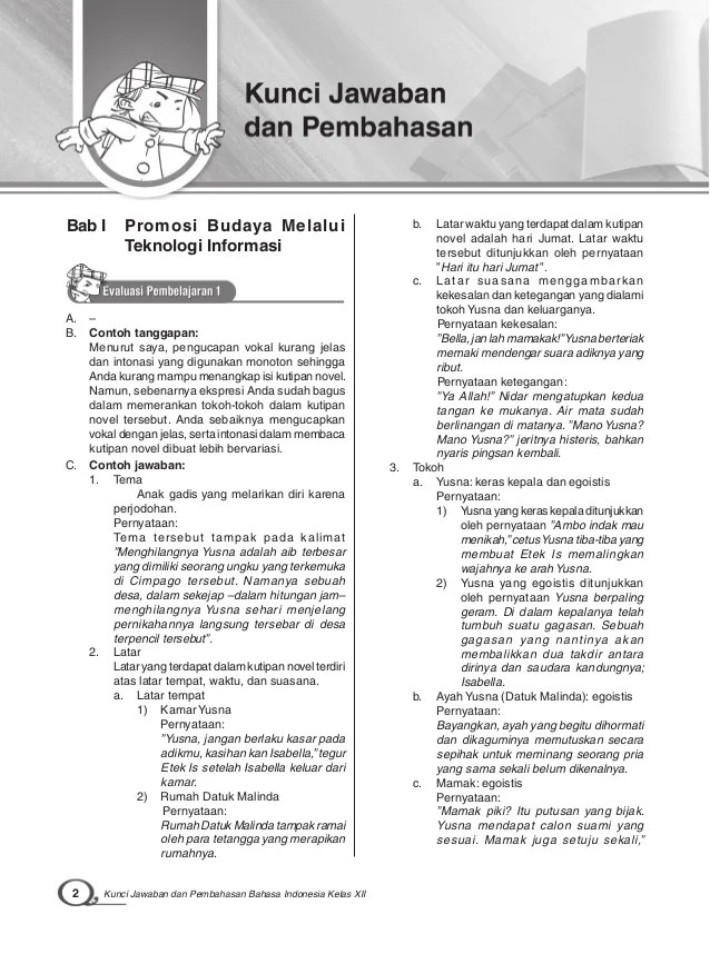 Kunci Jawaban Lks Bahasa Indonesia Kelas 12 Ilmusosial Id