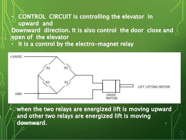State Relays Control The Motor Forward And Reverse Operation Circuit