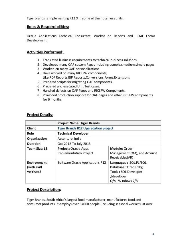 Software Developer Resume How Many Pages