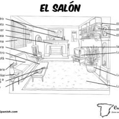 Living Room In Spanish Vocabulary Interior Design Ideas Traditional El Salon For The