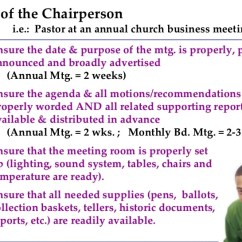 What Is A Chairperson In Meeting Pallet Wood Chair Rail 7 Role Of The