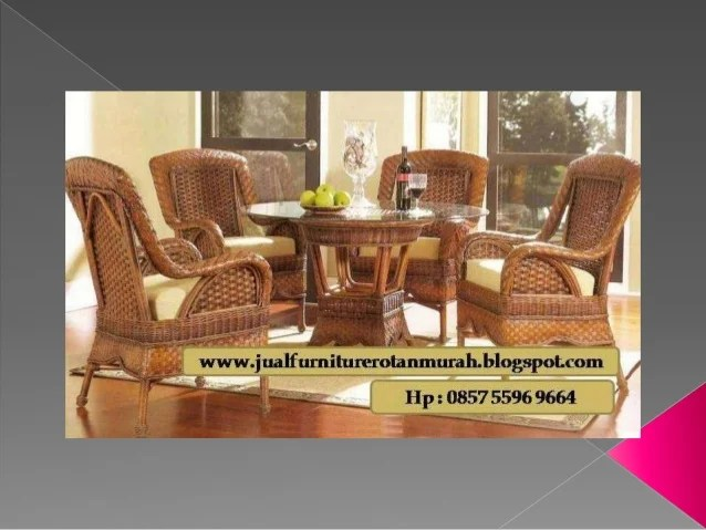 0857 5596 9664 Harga Furniture Rotan Cirebon Harga