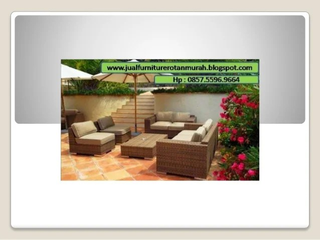 0857 5596 9664 Jual Furniture Rotan Murah Furniture