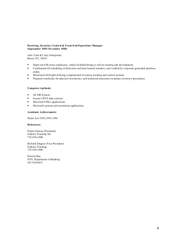 Sample Resume Cover Letters For Controllers | Free Cover ...