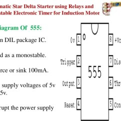 Control Wiring Diagram Of Dol Starter Er For Hospital Management Project Ppt 7 9 Automatic Star Delta