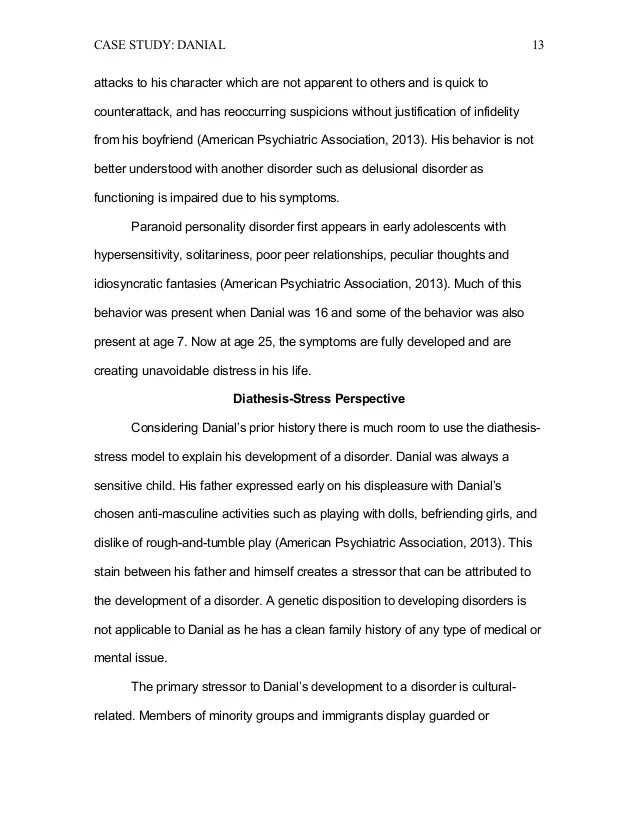Paranoid Personality Disorder Research Paper Essay Essay For Me