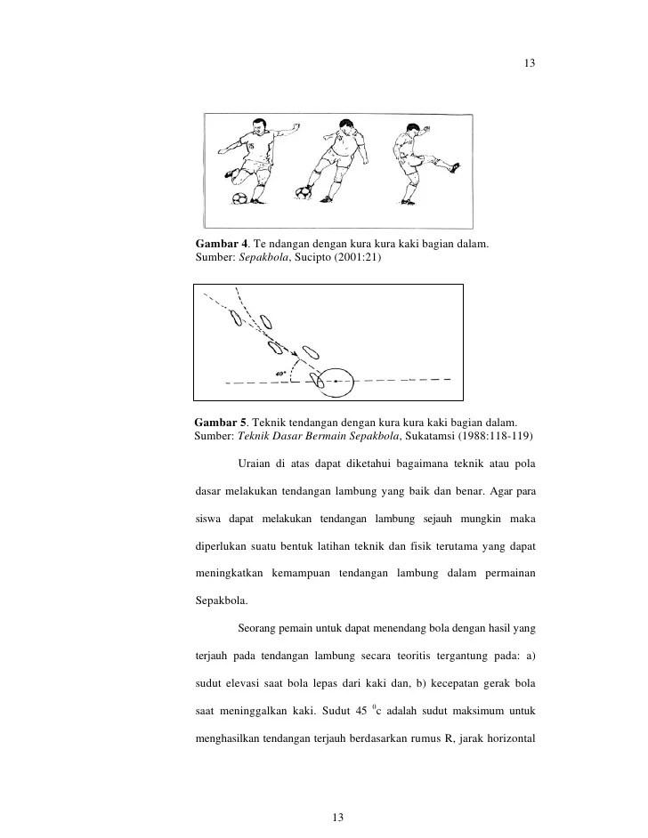 Untuk Menghasilkan Tendangan Bola Melambung Jauh Bagian Kaki Yang Digunakan Adalah : untuk, menghasilkan, tendangan, melambung, bagian, digunakan, adalah
