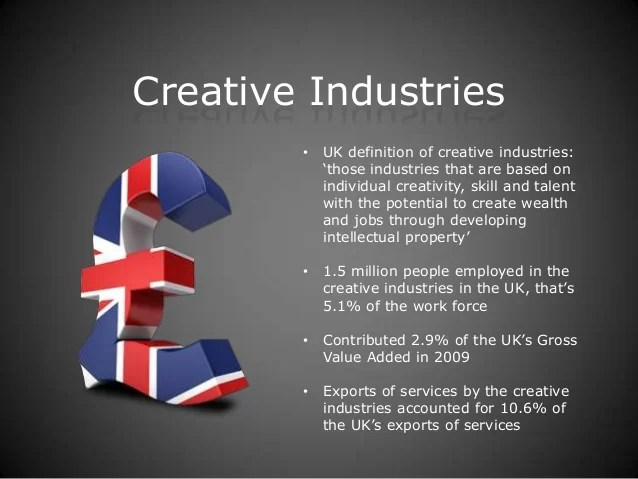 Unit 8 Overview Of The Creative Industries