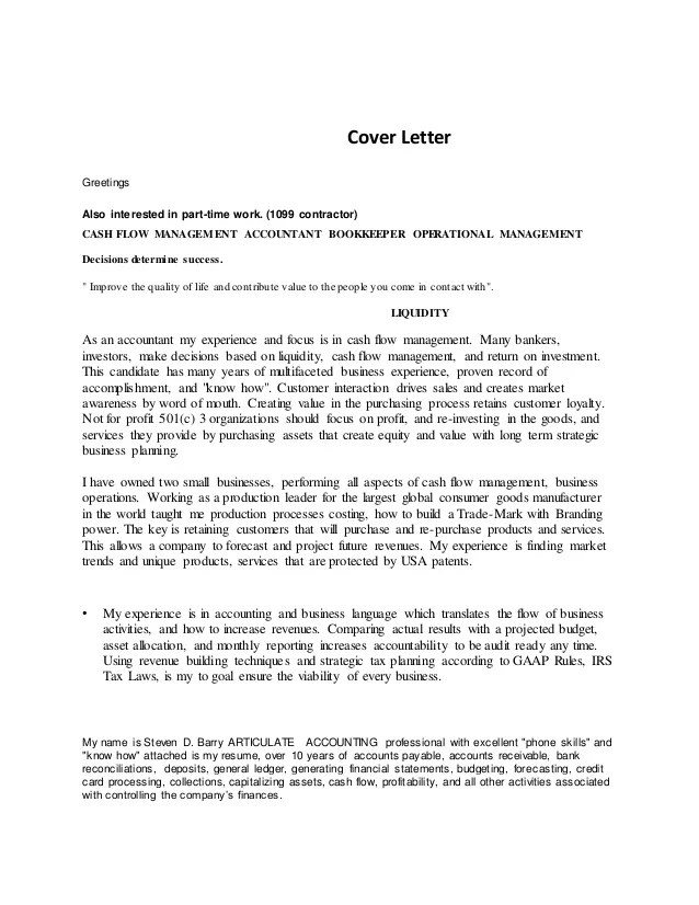Reference Letter For Management Accountant | Free Resume Builder