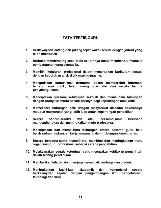 Tata Tertib Guru Indonesia : tertib, indonesia, Tertib, Cute766