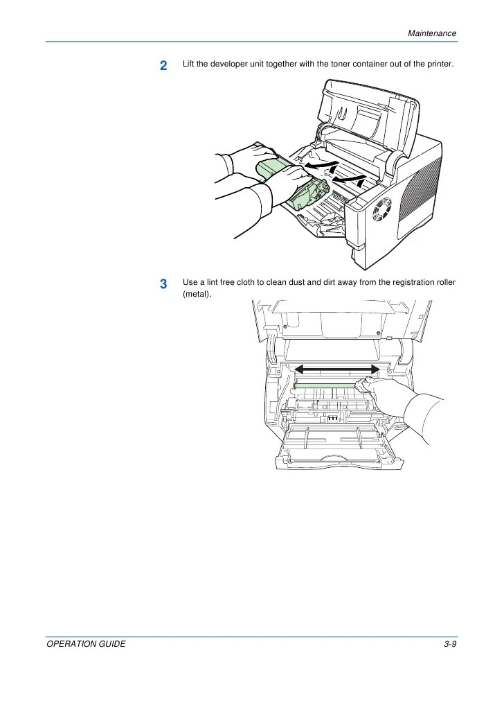 Kyocera FS4000DN Operation Guide