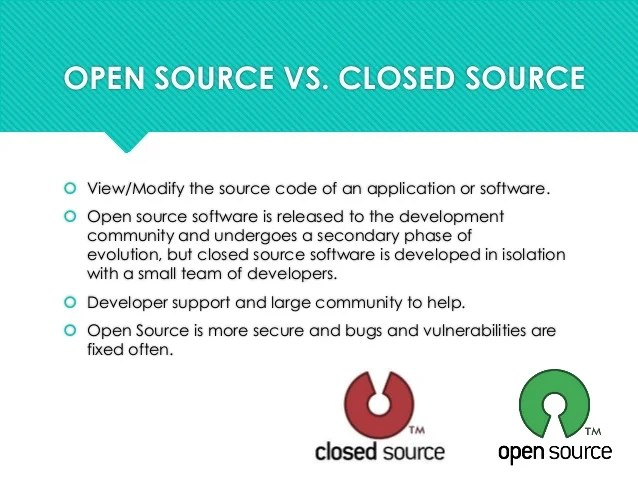 programming in open source
