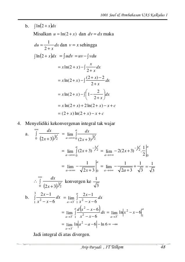 Pembahasan Soal Materi Uts Kalkulus 1 Part 2 Cute766