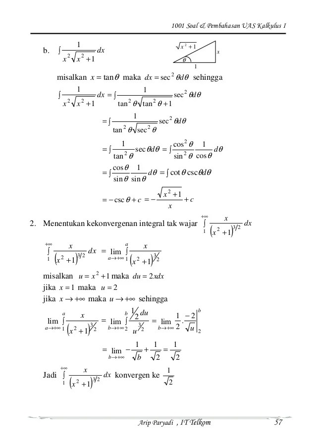 Bagi gengs yang belum mengerti tentang fungsi sok mangga bisa coba coba kerjakan soal soal yang akan saya berikan. Contoh Soal Kalkulus Dan Jawabannya Dengan