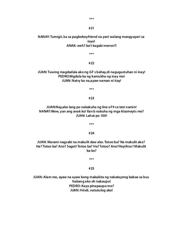 Ano Sabi Jokes : jokes, Pinoy, Jokes