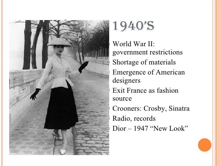 1940 women fashion