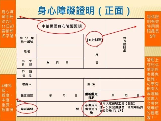 臺北市簡介身心障礙鑑定與需求評估新制1010622修正版[1][1]