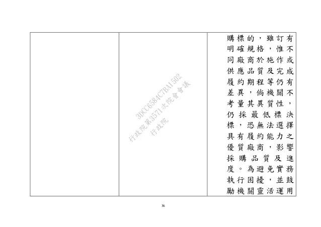 20101012行政院公共工程委員會:「政府採購法」部分條文修正草案