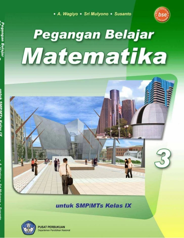 Buku Paket Matematika Kelas 9 : paket, matematika, kelas, Matematika, Kelas