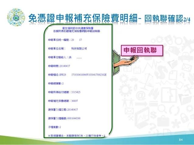 補充保險費明細申報作業(南區業務組)