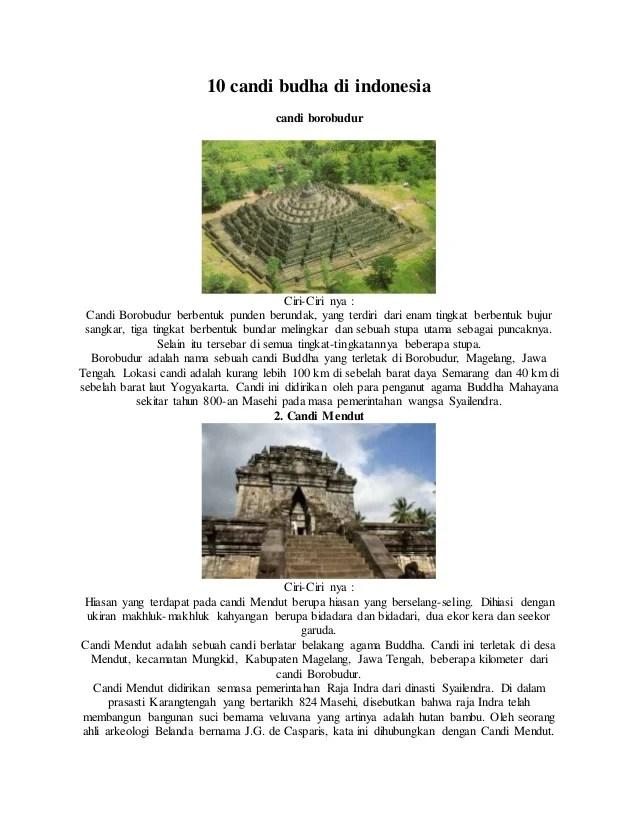 Ciri Ciri Candi Di Jawa Timur : candi, timur, Candi, Budha, Hindu, Indonesia